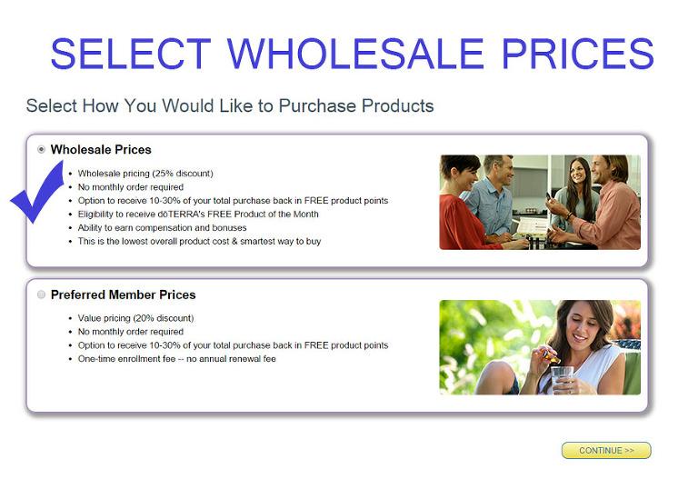 doTERRA WholesalePrice